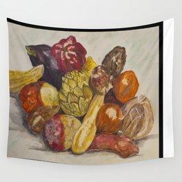Fruit Still Life Wall Tapestry