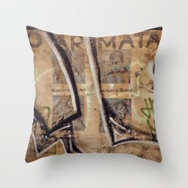 Surfaces Throw Pillow