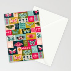 Lepidoptery tiles by Andrea Lauren  Stationery Cards