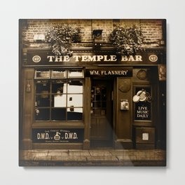 The Temple Bar Metal Print