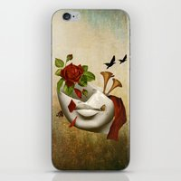 broken iPhone & iPod Skins featuring Broken by Diogo Verissimo