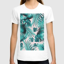 Tropical Jungle Leaves Dream #4 #tropical #decor #art #society6 T-shirt