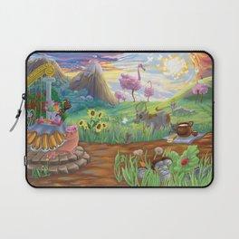 Large Fantasy Hand Painted Print 200x70cm Laptop Sleeve