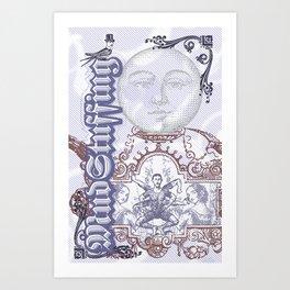 MudStuffing Art Print