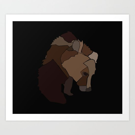 Heart Of Wool Art Print