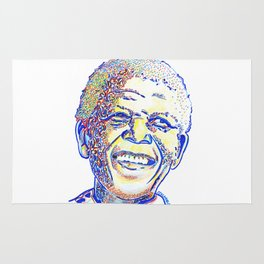 Nelson Mandela, an Icon in our Lifetime Rug