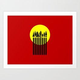 Cordillera People's Party Art Print