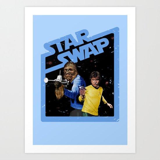 Star Swap Art Print