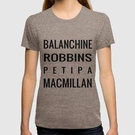 Favorite Choreographers T-shirt