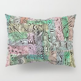 Pastel Abstract Pillow Sham