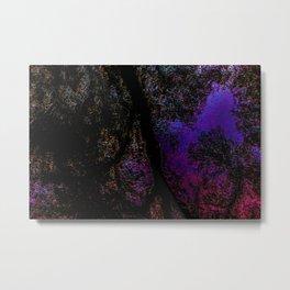 Reverse Reflections Metal Print