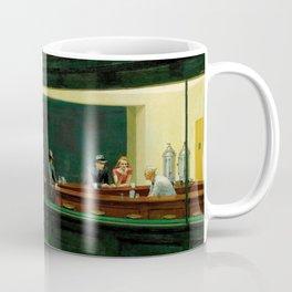 Nighthawks Vintage Original Painting Edward Hopper Coffee Mug