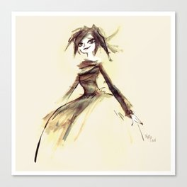 Gothic Lady Canvas Print