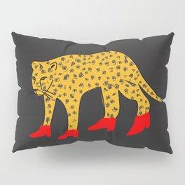 Red Boots Pillow Sham