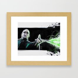 Lord Voldemort Framed Art Print