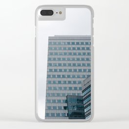 Cityscape I Clear iPhone Case