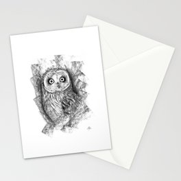 Owl a2 Stationery Cards