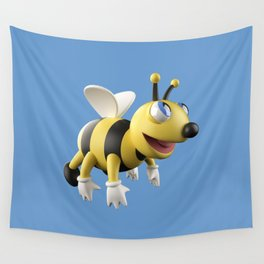 3D bee Wall Tapestry