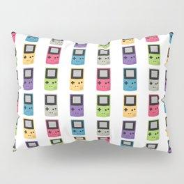 Gameboy Pattern Pillow Sham