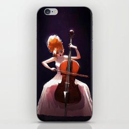 The Cello Player iPhone Skin