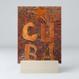 CUIN CUBA Mini Art Print