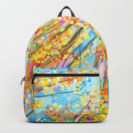 Autumn trees Backpack
