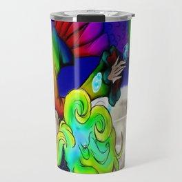 Galaxy Mermaid Travel Mug
