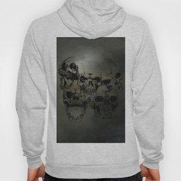Dark abstract skull Hoody