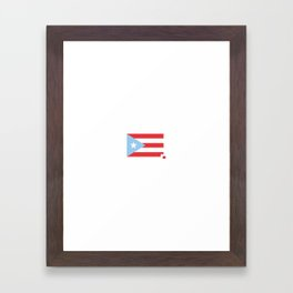 Hurricane Relief Efforts for Puerto Rico Framed Art Print