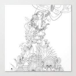 Edena Canvas Print