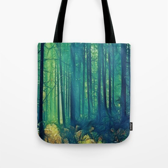 Eyes On The Forest, Not On The Trees. Tote Bag
