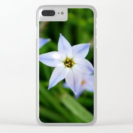 Starflowers Clear iPhone Case