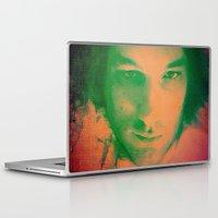 apollo Laptop & iPad Skins featuring Apollo incarnate by Angela Pesic