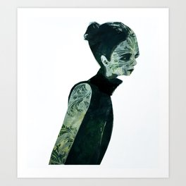 pin-turns Art Print