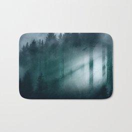 Through the mist Bath Mat