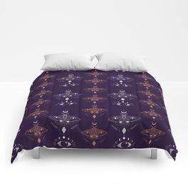 Mystic Moths Comforters