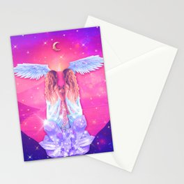 THE LOVERS TAROT CARD Stationery Cards