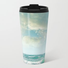 beach love tropical island paradise Travel Mug