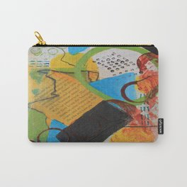 Messy Circles Carry-All Pouch