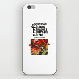 Escape from Flavortown - dungeons dragons iPhone Skin