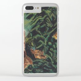Great Wall (3 of 3) Clear iPhone Case