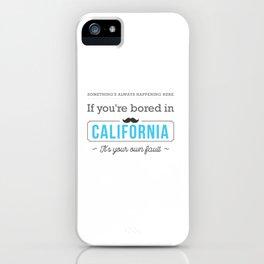 075 California iPhone Case