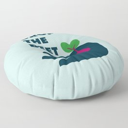 Drop The Beet Floor Pillow
