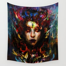 horns of autumn Wall Tapestry