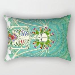 Angel Of The Entheogens Rectangular Pillow