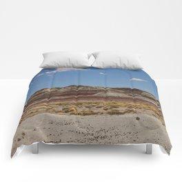 Blue Mesa Area - Petrified Forest Comforters