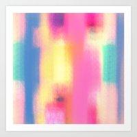 Phresh Pink Art Print