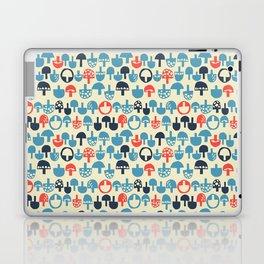 Mushroom Boom Laptop & iPad Skin
