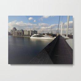 London Theme Metal Print