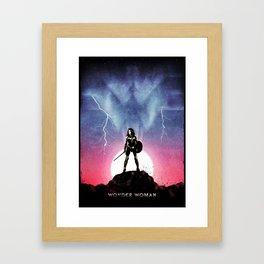 Diana, Princess of the Amazons Framed Art Print